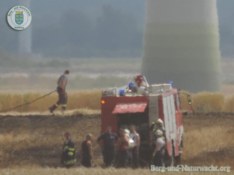 Feldbrand am 18.6.2014 in der Gemeinde Berg | Foto: Berg-und-Naturwacht.org