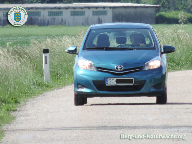 Über den Feldweg von Kittsee nach Berg Richtung Bratislava | Foto: Berg-und-Naturwacht.org