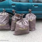 zusammengefaßte Abfälle in Bad Deutsch-Altenburg | Foto: NOE-Umweltwacht.org