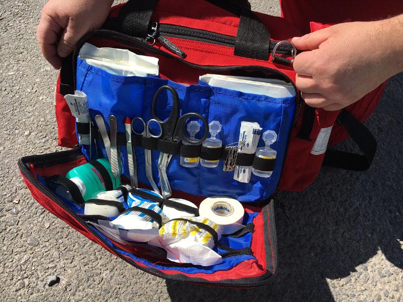 Einsatztasche für Erste Hilfe des Roten Kreuzes für NÖ Umweltwacht | Foto: NOE-Umweltwacht.org