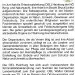 Medienbericht Gemeindezeitung Hainburg über NÖ Berg-und Naturwacht und Feldschutz