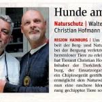 Medienbericht über NÖ Berg- und Naturwacht Hainburg